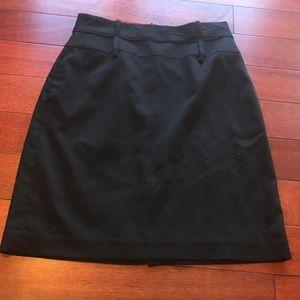 👠black pencil skirt